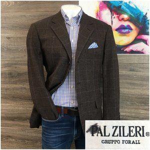 PAL ZILERI Sport Coat Blazer Wool Cashmere Jacket